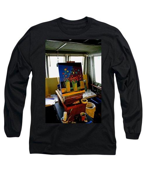 My Art Studio Long Sleeve T-Shirt