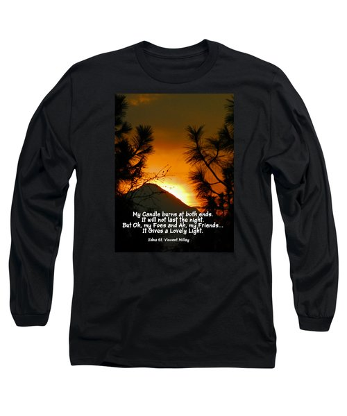 My Candle Long Sleeve T-Shirt