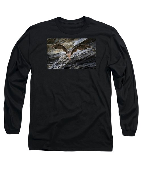 My Guardian Angel Long Sleeve T-Shirt