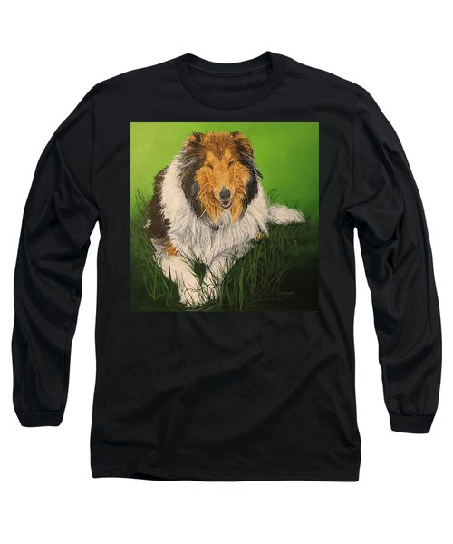 My Guardian  Long Sleeve T-Shirt by Wendy Shoults