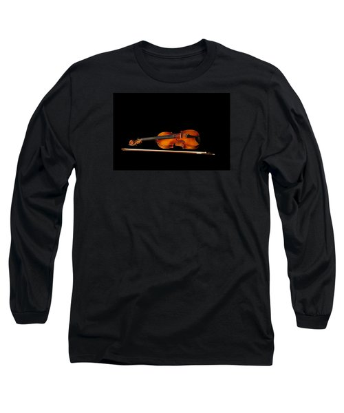 My Old Fiddle And Bow Long Sleeve T-Shirt