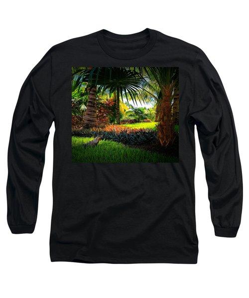 My Pal Iggy Long Sleeve T-Shirt by Robert McCubbin