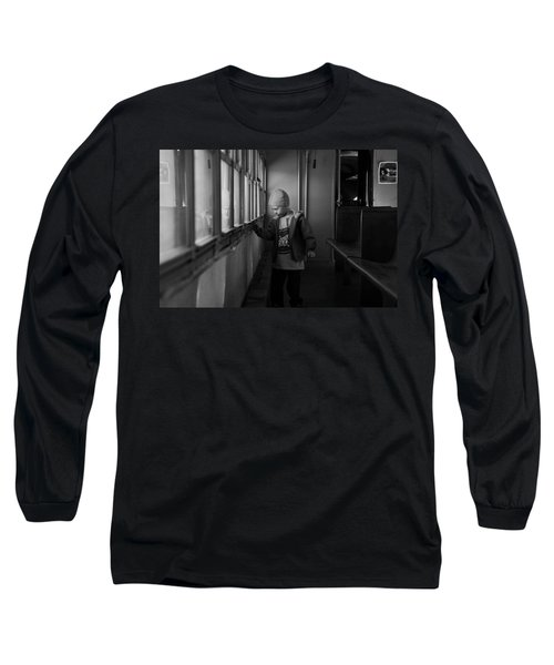 Long Sleeve T-Shirt featuring the photograph My Shadow by Jeremy Rhoades