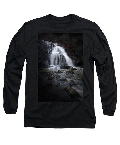Mysterious Waterfall Long Sleeve T-Shirt