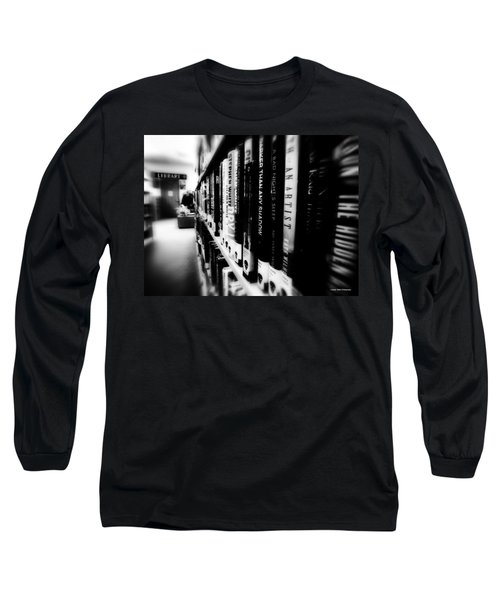 Long Sleeve T-Shirt featuring the photograph Mystery At The Library by Lucinda Walter