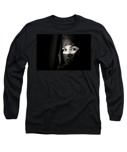 Mystery That Is Woman Long Sleeve T-Shirt