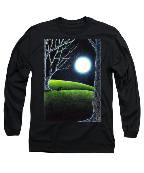 Mystery's Silence And Wonder's Patience Long Sleeve T-Shirt