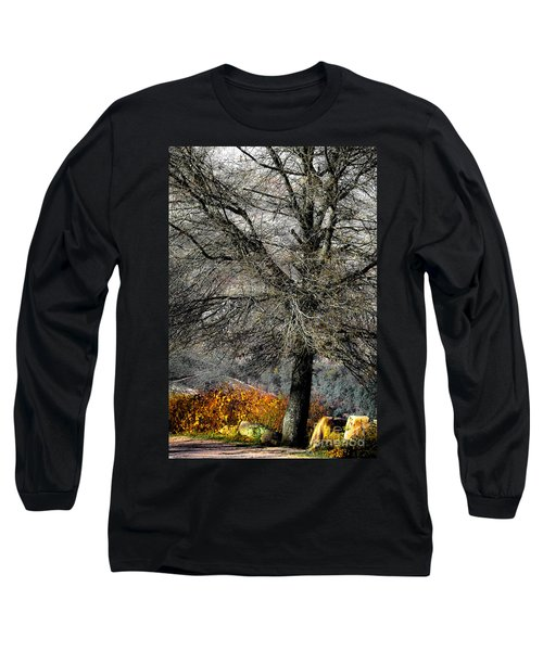 Naked For The Winter Long Sleeve T-Shirt