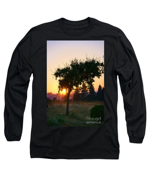 Long Sleeve T-Shirt featuring the photograph Napa Moment by Ellen Cotton