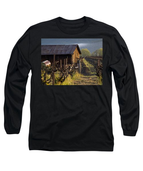 Napa Morning Long Sleeve T-Shirt by Bill Gallagher