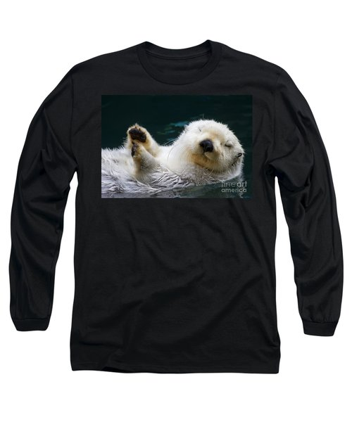 Napping On The Water Long Sleeve T-Shirt