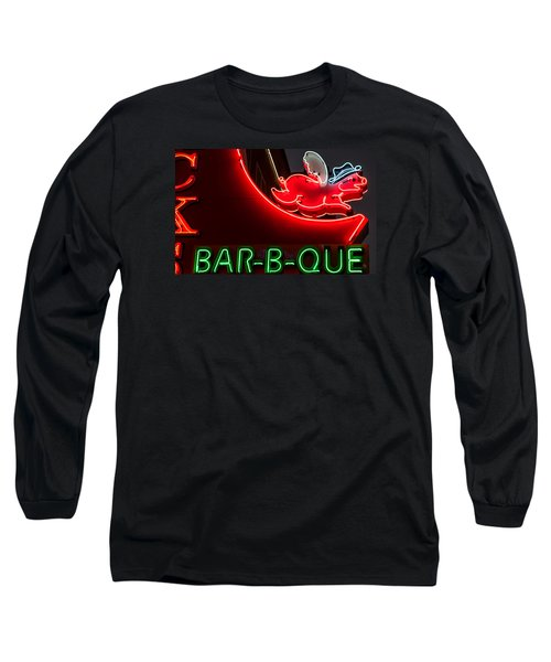 Nashville Bbq Long Sleeve T-Shirt by Glenn DiPaola