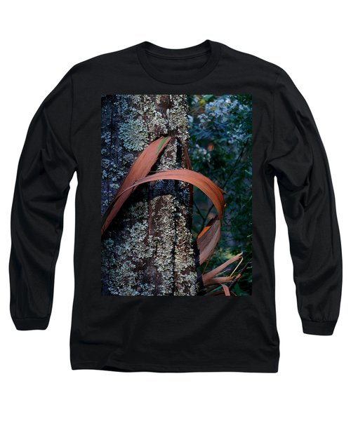 Long Sleeve T-Shirt featuring the photograph Natural Bands 1 by Evelyn Tambour