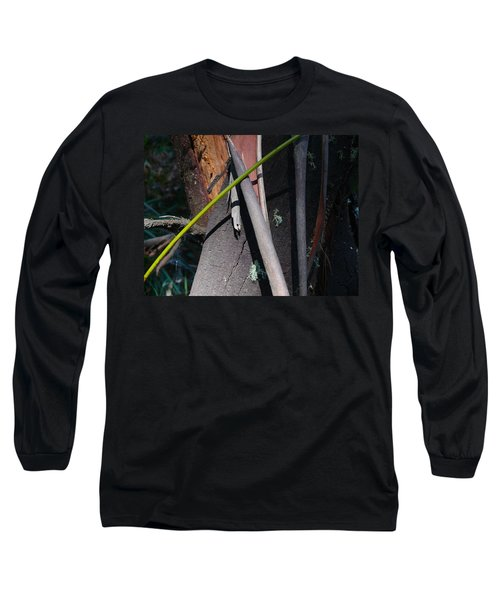 Long Sleeve T-Shirt featuring the photograph Natural Bands 3 by Evelyn Tambour
