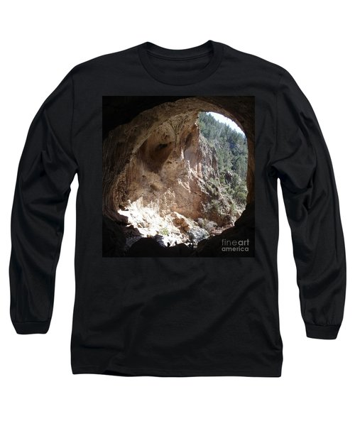 Long Sleeve T-Shirt featuring the photograph Natural Bridge View by Kerri Mortenson