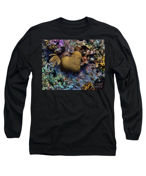 Natural Heart Long Sleeve T-Shirt by Peggy Hughes