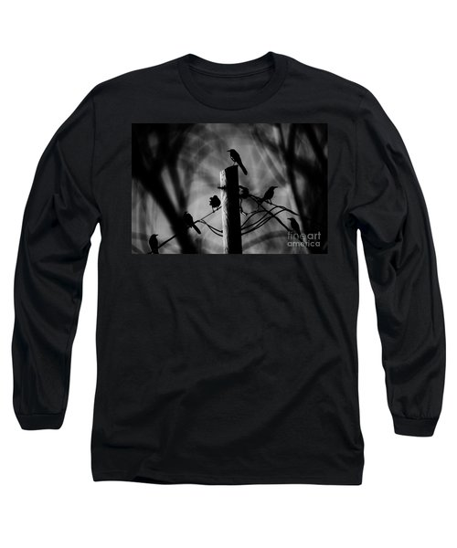 Long Sleeve T-Shirt featuring the photograph Nature In The Slums by Jessica Shelton
