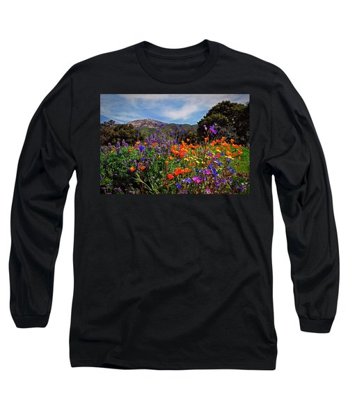 Nature's Bouquet  Long Sleeve T-Shirt by Lynn Bauer