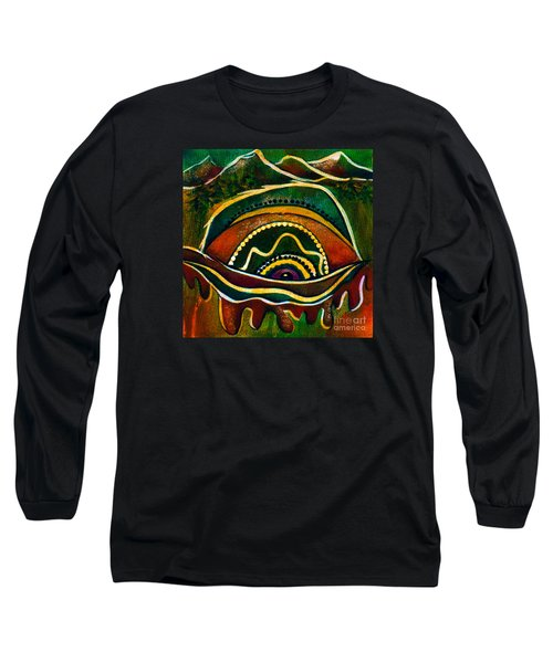 Nature's Child Spirit Eye Long Sleeve T-Shirt by Deborha Kerr