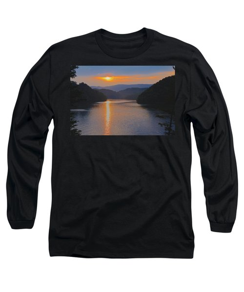 Natures Eyes Long Sleeve T-Shirt by Tom Culver