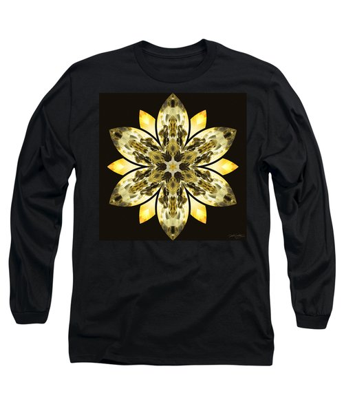 Nature's Mandala 57 Long Sleeve T-Shirt