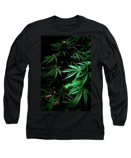 Long Sleeve T-Shirt featuring the photograph Nature's Medicine by Jeanette C Landstrom