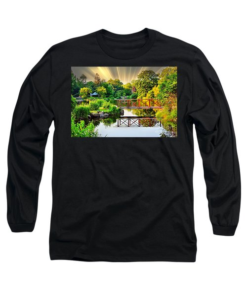 Long Sleeve T-Shirt featuring the photograph Nature's Reflections by Judy Palkimas