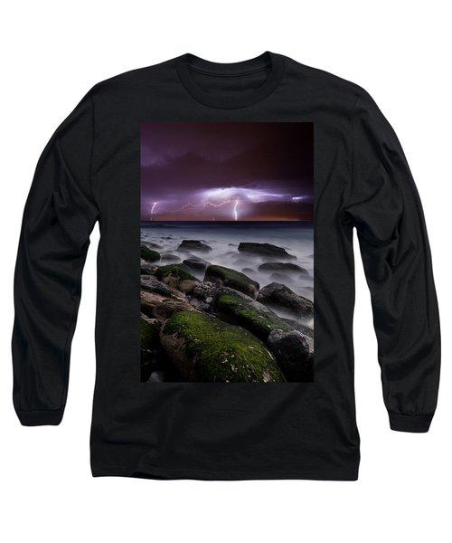 Nature's Splendor Long Sleeve T-Shirt by Jorge Maia