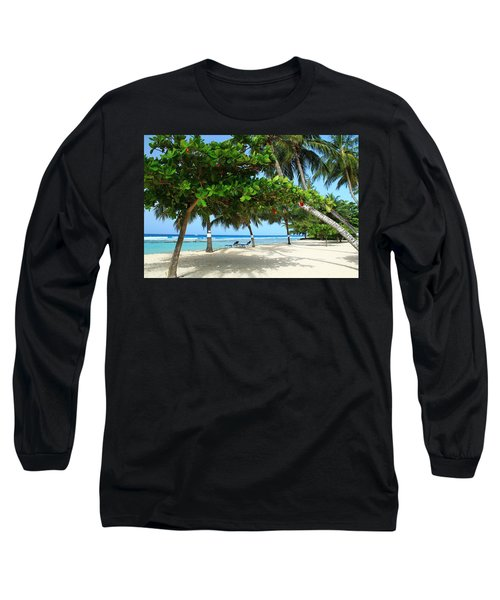 Natures Umbrella Tree Long Sleeve T-Shirt by Catie Canetti
