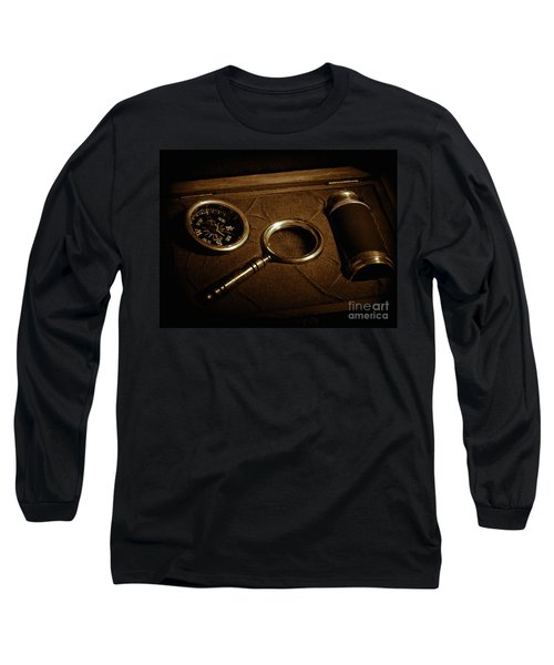 Navagating Long Sleeve T-Shirt