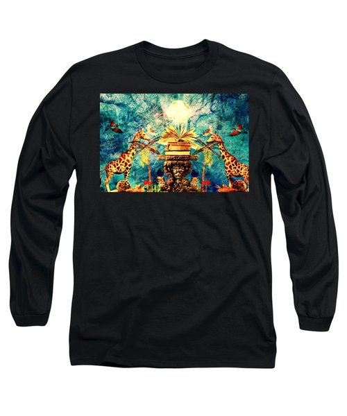 Near Reflections Long Sleeve T-Shirt by Ally  White