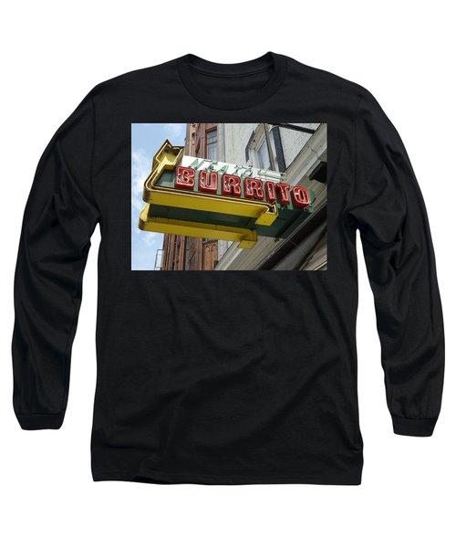 Neato Burrito Long Sleeve T-Shirt