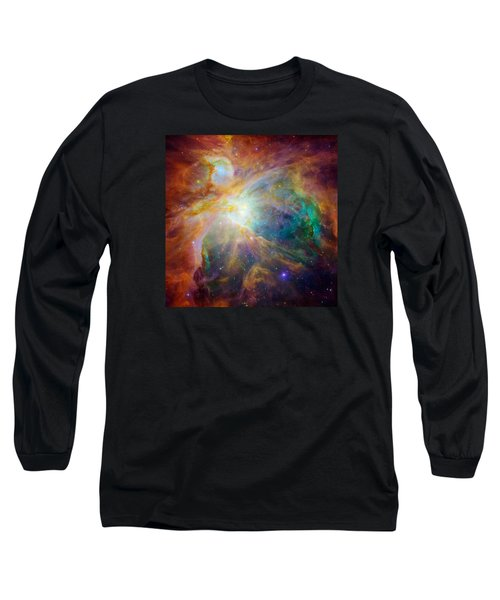 Chaos At The Heart Of Orion Long Sleeve T-Shirt by Nasa