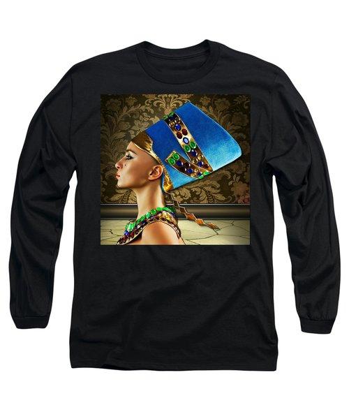 Nefertiti Long Sleeve T-Shirt
