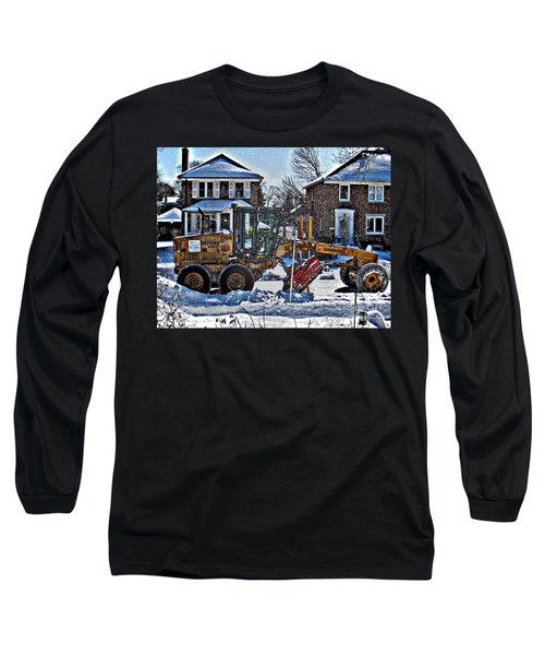Neighbourhood Snowplough Long Sleeve T-Shirt by Nina Silver