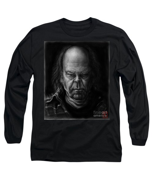 Neil Young Long Sleeve T-Shirt