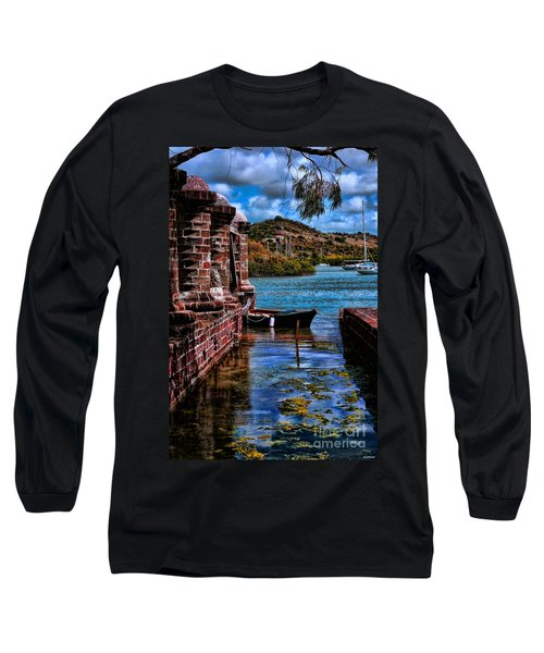 Nelson's Dockyard Antigua Long Sleeve T-Shirt