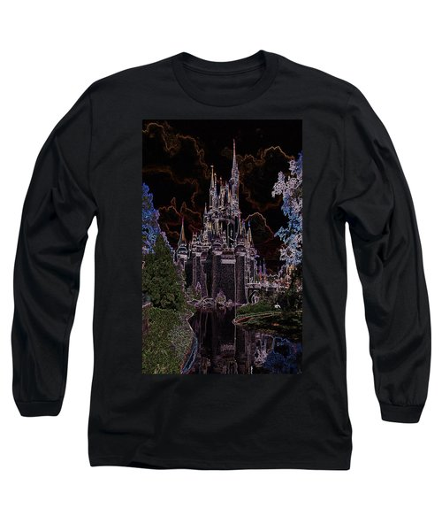 Neon Castle Long Sleeve T-Shirt