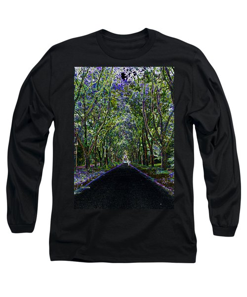 Neon Forest Long Sleeve T-Shirt by Tine Nordbred
