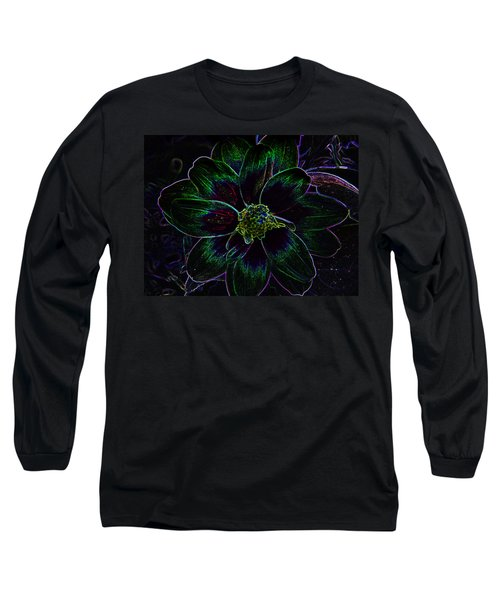Long Sleeve T-Shirt featuring the photograph Neon Glow by Aimee L Maher Photography and Art Visit ALMGallerydotcom
