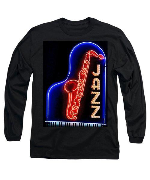 Neon Jazz Long Sleeve T-Shirt