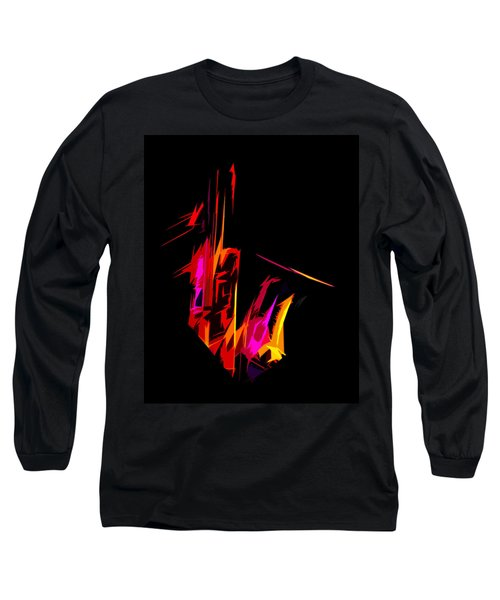Neon Sax Long Sleeve T-Shirt