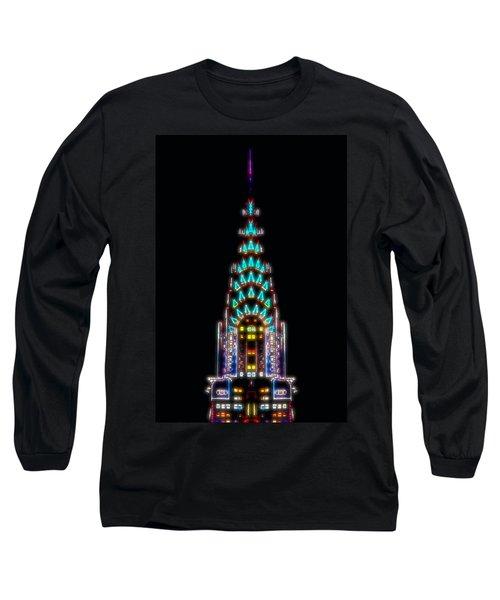 Neon Spires Long Sleeve T-Shirt