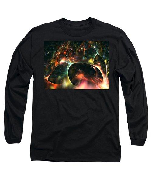 Neutrino Long Sleeve T-Shirt by Kim Sy Ok