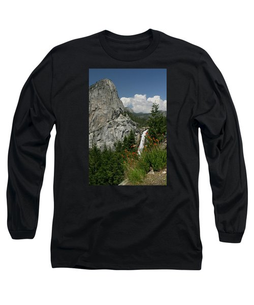 Nevada Falls Yosemite National Park Long Sleeve T-Shirt