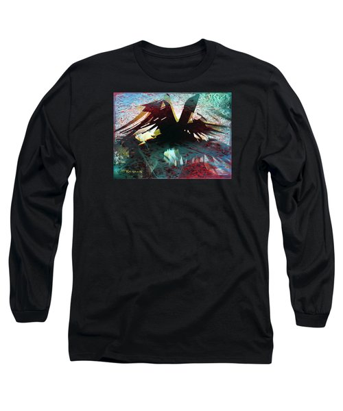 Nevermore Long Sleeve T-Shirt by Sadie Reneau