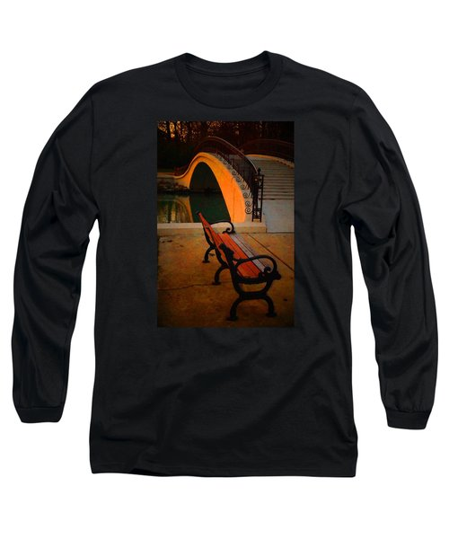New Bridge And Bench Long Sleeve T-Shirt