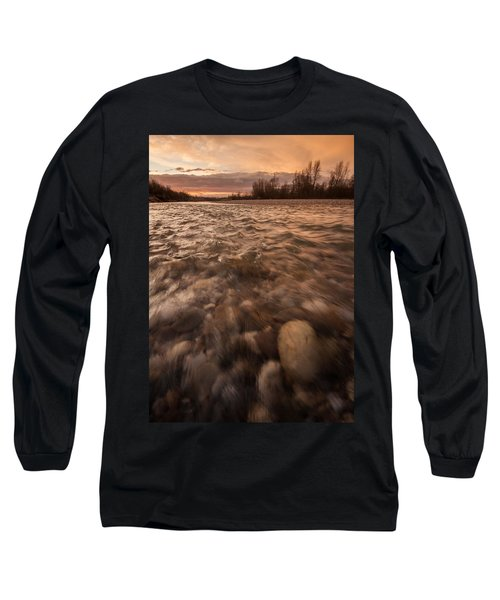Long Sleeve T-Shirt featuring the photograph New Dawn by Davorin Mance