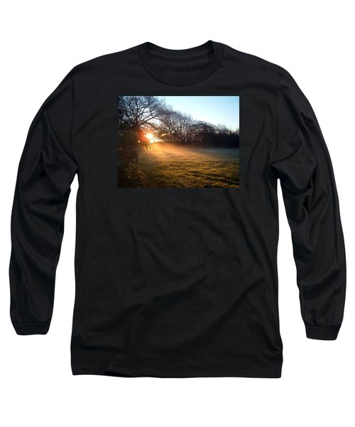 New Dawn Fades Long Sleeve T-Shirt by Richard Brookes