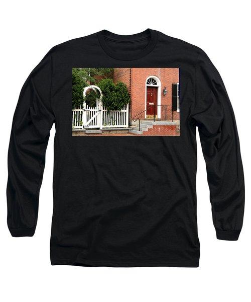 New England Street Scene Long Sleeve T-Shirt